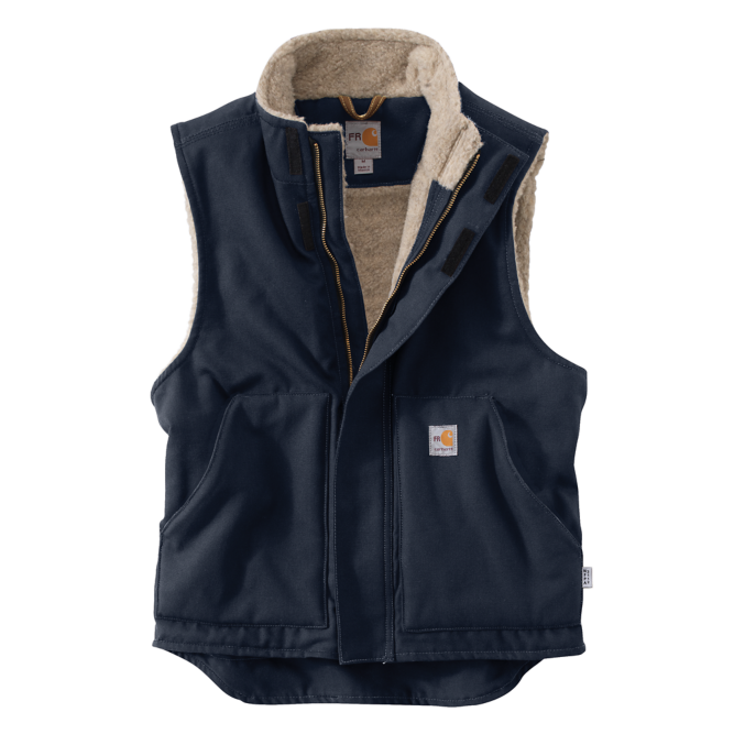 Carhartt Flame‐Resistant Mockneck Vest, 101029 Dark Navy Option