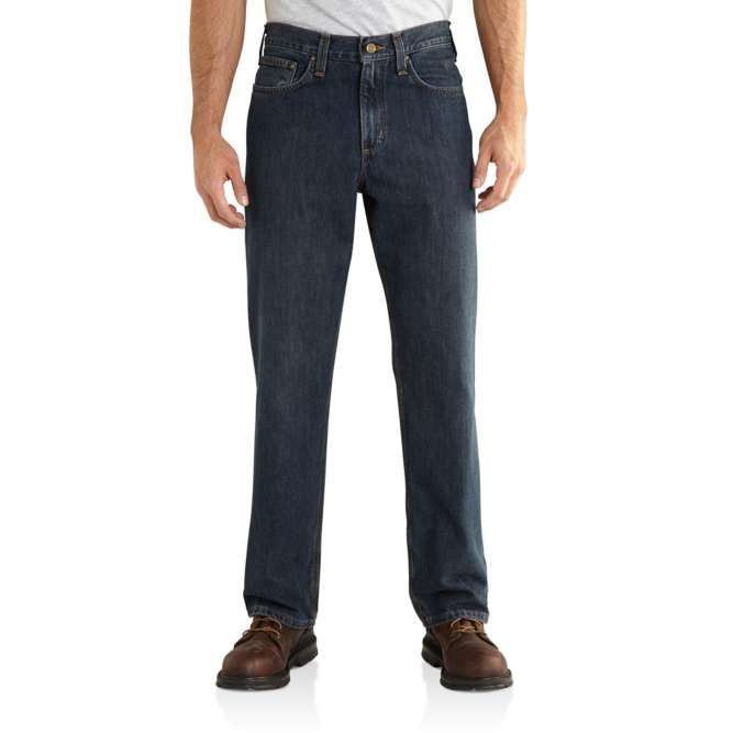 Carhartt Relaxed Fit Holter Jean, 101483 Bedrock Option