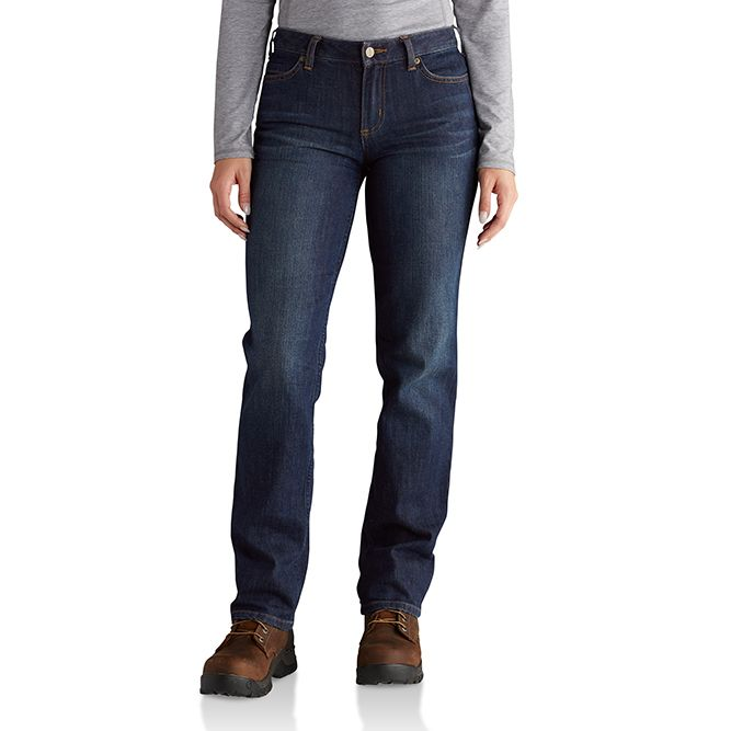 Carhartt Ladies Original-Fit Blaine Jeans, 102731 Bluestone
