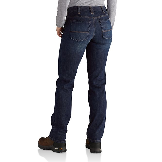 Carhartt Ladies Original-Fit Blaine Jeans, 102731 Bluestone Back