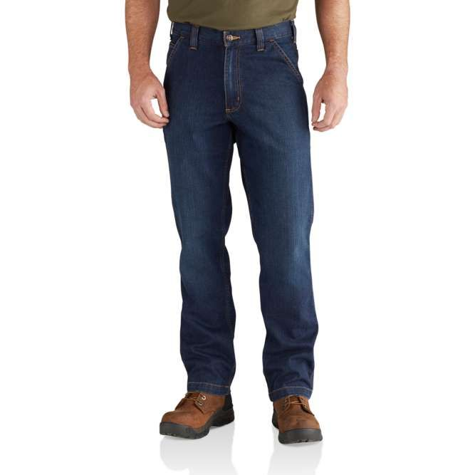 Carhartt Rugged Flex Relaxed Fit Dungaree Jean, 102808 Superior Option