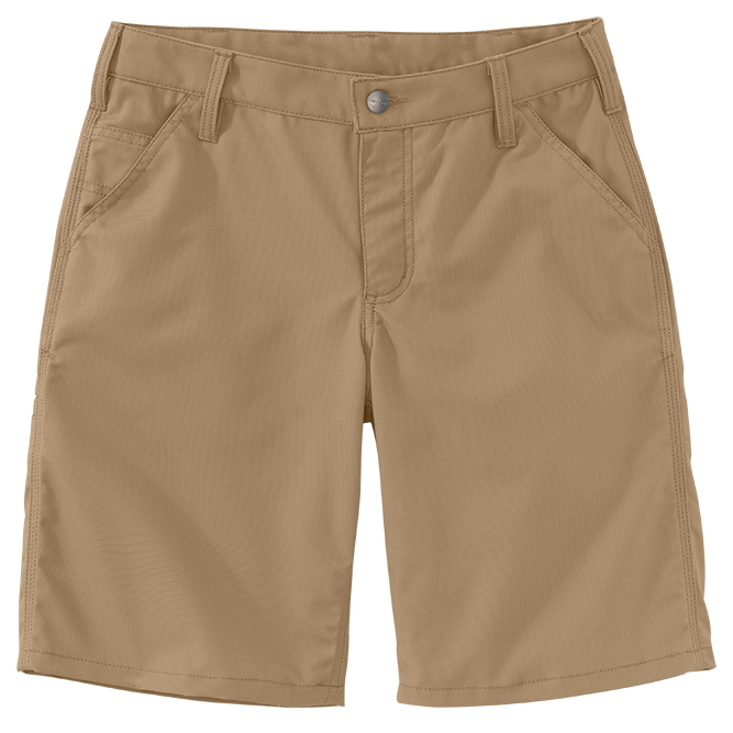 Carhartt Ladies Original Fit Rugged Professional Series Short, 103103 Dark Khaki