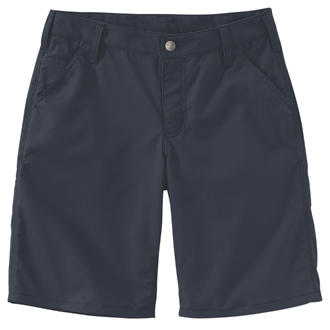 Carhartt Ladies Original Fit Rugged Professional Series Short, 103103 Navy Option