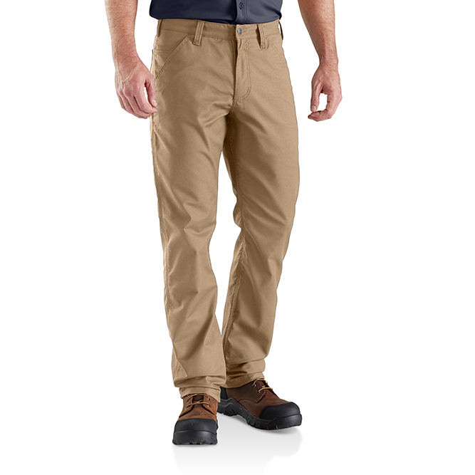 Carhartt Rugged Professional Series Men's Relaxed Fit Pant, 103109 Dark Khaki