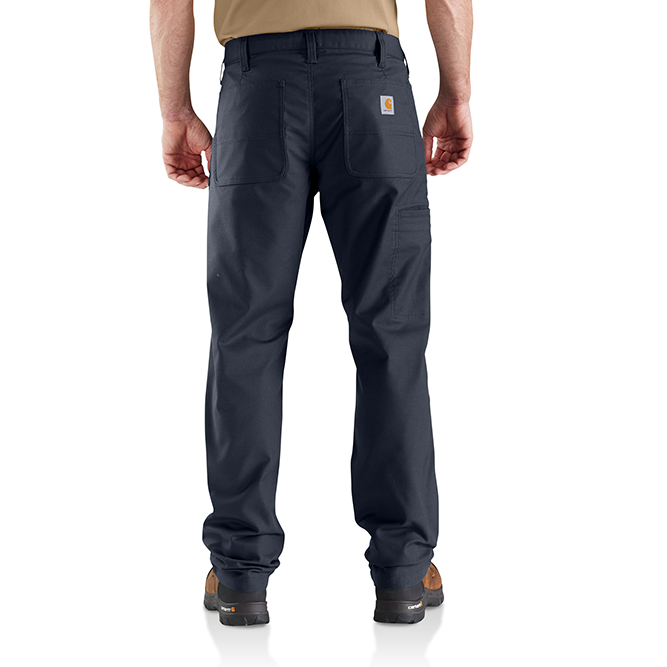 Carhartt Rugged Professional Series Men's Relaxed Fit Pant, 103109 Navy Back