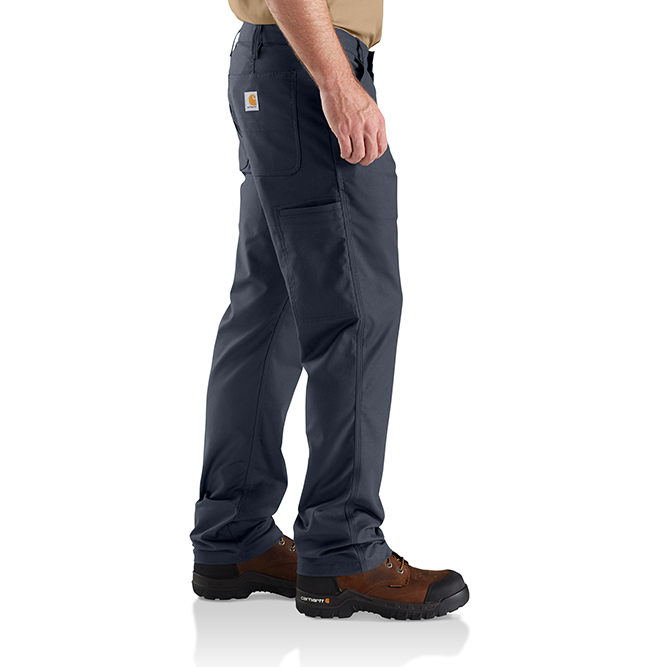 Carhartt Rugged Professional Series Men's Relaxed Fit Pant, 103109 Navy Side