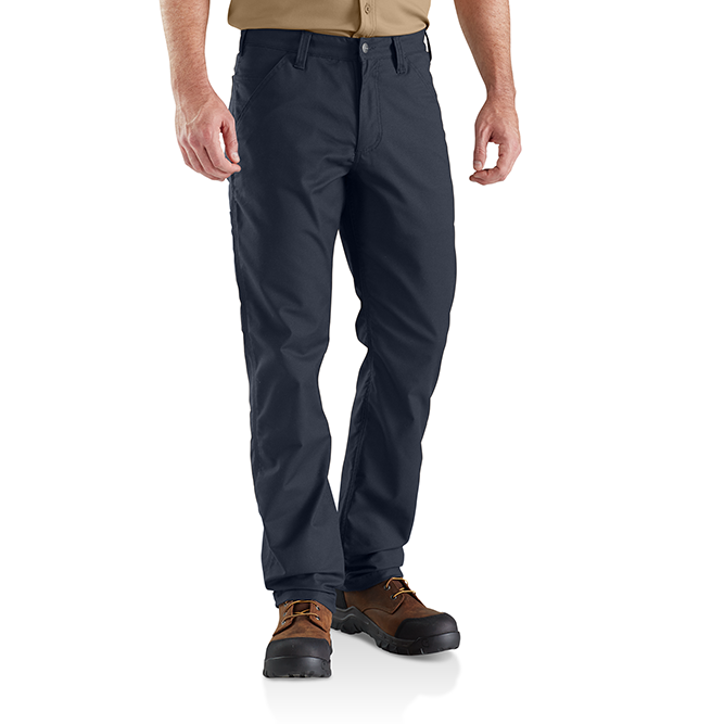 Carhartt Rugged Professional Series Men's Relaxed Fit Pant, 103109 Navy