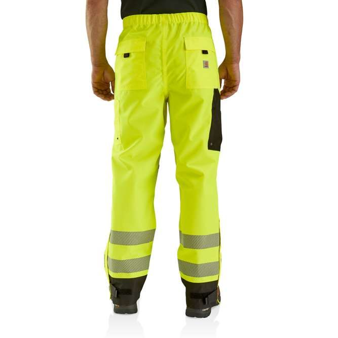 Carhartt High Visibility Class E Waterproof Pant, 103208 Back