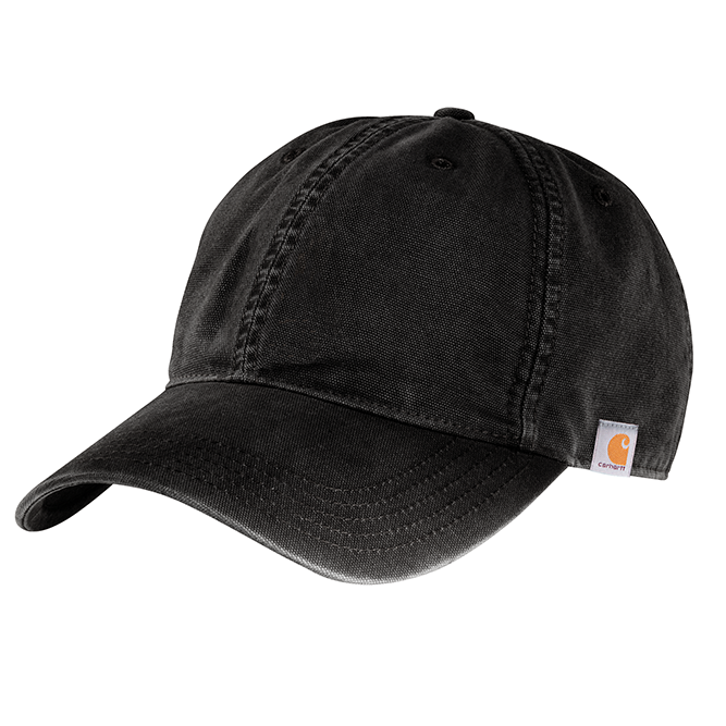 Carhartt Cotton Canvas Cap, 103938 Black option