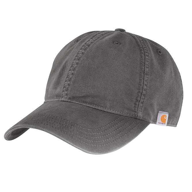 Carhartt Cotton Canvas Cap, 103938 Gravel