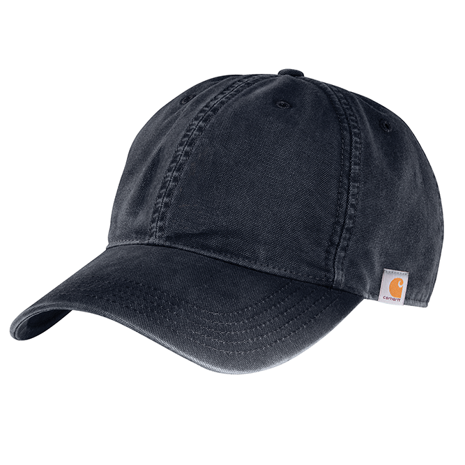 Carhartt Cotton Canvas Cap, 103938 Navy option