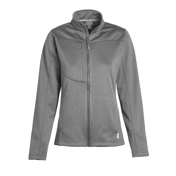 Landway Ladies Flash Bonded Fleece Soft Shell 2812 Dark Ash