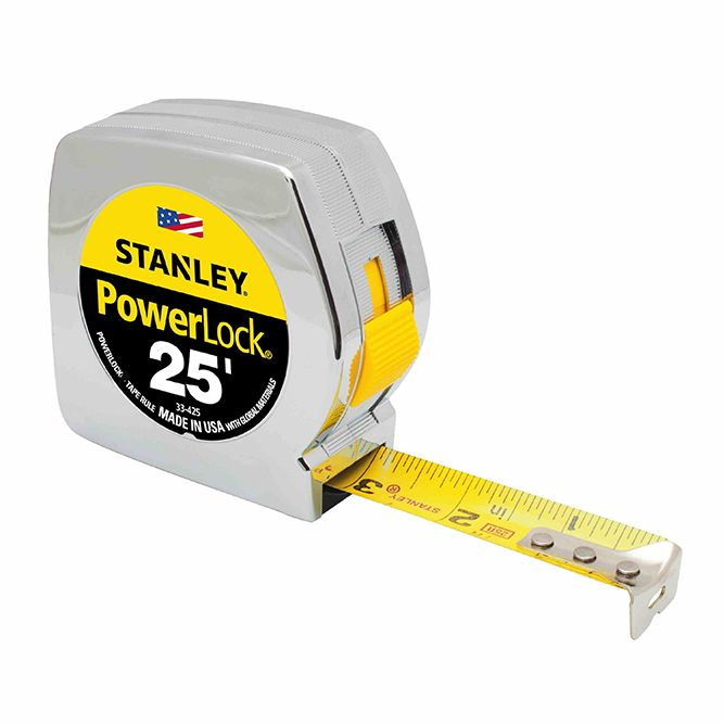 Stanley 25 ft PowerLock Tape Measure, 33‐425