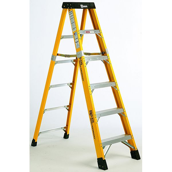 Bauer 4 foot Heavy Duty Fiberglass Stepladder Type IAA 375 lb Rated, 36604