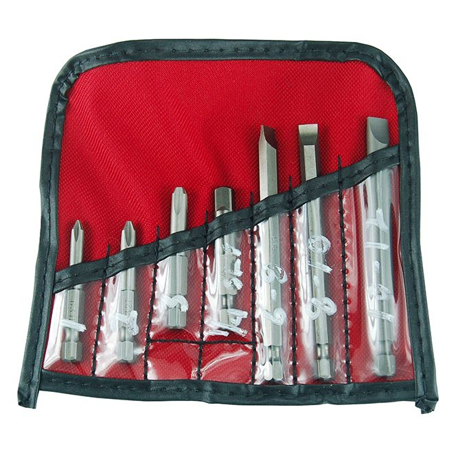 7 Piece Screwdriver Bit Set, 4830102